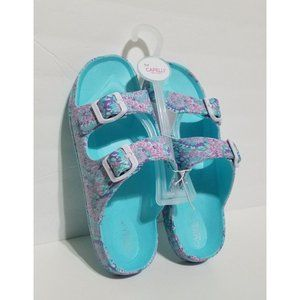 Girls Spring Tie Dye Sandals Shoes 12 -  4